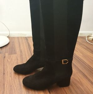 Cole Haan Avani suede stretch boots